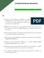Preguntero Procesal Penal Por Abecesario 2017