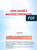 3.1. Indicadores Macroeconómicos