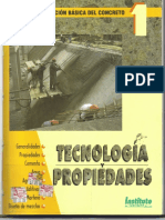 Tecnologia y Propiedades Del Cemento