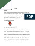 chemistry eportfolio paper