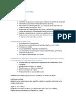 Debes de La Norma ISO 9001