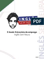 eBook - Enterevista de Emprego (Inglês Sem Neura)