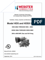 950043 Hds Hdsx UL Burner Manual, 9-14