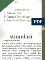 STIMULASI
