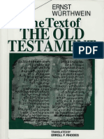 The Text of the Old Testament - Ernst Würthwein