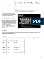 Westborneoblogger.blogspot.com-Pengertian Dan Jenis-jenis Tipe Data Data Type Didalam Dunia Pemrograman
