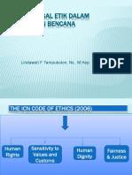 Prinsip Legal Etik Dalam Manajemen Bencana