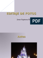 Editaje de fotos