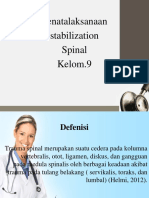 Power Point Trauma Spinal