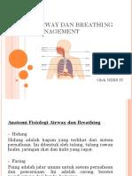 Ppt Airway Dan Breathing Management