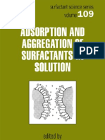 Adsorption and Aggregation of Surf Act Ants in Solution