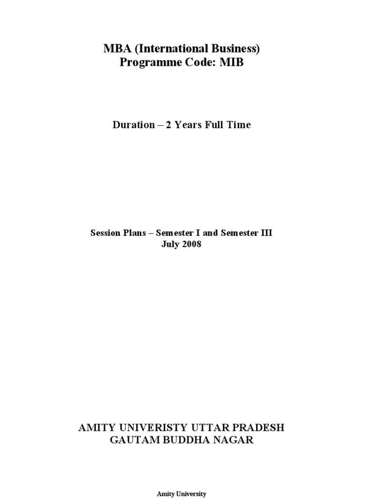 Session plan iiird semester futures contract strategic management fandeluxe Gallery