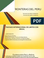 Fronteras Del Peru - Bolivia