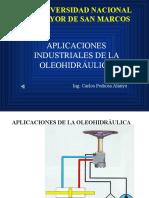 Aplicaciones de La Oleohidraulica