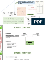 Clase Reactores Continuos