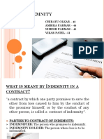 Ppt Indemnity