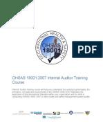 Internal18001 Auditor