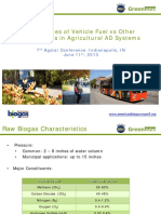 Advantages of Vehicle Fuel Versus Other Biogas Uses in Agricultural AD, Systems, Sean Mezei