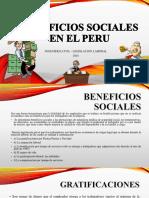 Beneficios Sociales en El Peru