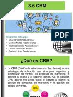 3.6 CRM