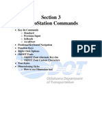 Microstation Commands