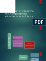 Comparison of Dopamine and Norepinephrine PPT