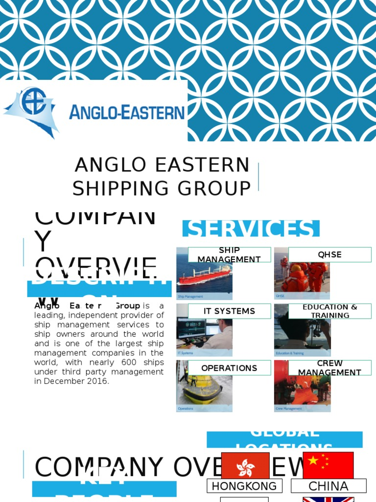 Anglo Eastern SHIPPING Group - Copy.pptx | Technology | Business
