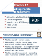 Chapter 17- Working Capital Management