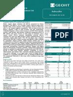 Future Supply Chain Solutions Ltd IPO Note Dec 5th 2017