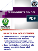 5. Resiko Bahaya Biologis