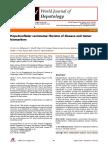 Hepatocelullar Carcinoma - Review of Disease and Tumor Biomarkers