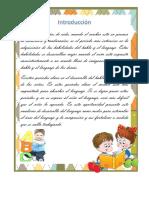 Fichas para desarrollo del lenguaje