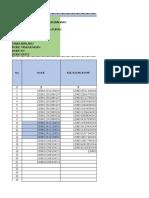 Contoh Format 34 Data Lengkap