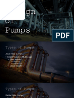 Design of Pumps