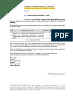 11.- Formato de Cotización