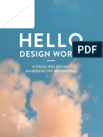 Visual Webdesign Guide for Developers