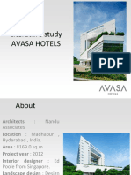 Hotel Avasa Case study