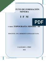 TOP. III - IFM
