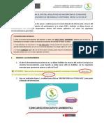 Aplicativo Para La Inscripción Del Concurso Educativo Ambiental 2017