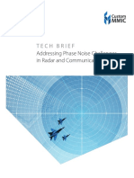 Addressing Phase Noise Challenges in Radar and Communication Systems