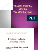 Present Perfect vs Simple Past