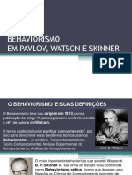 ADM Behaviorismo