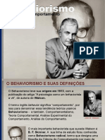 Behaviorismo Psi Forense