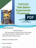 totalstationtopconexpprocedures-140210093553-phpapp02