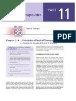 Principle of Topical Agent-Fzp