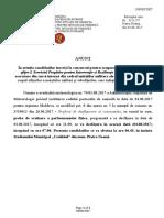 Anunt Concurs Ofiter I SPIRC Modificare Grafic Proba Sportiva