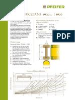 Pfeifer Group PDF Schalungstraeger Durchbiegung En