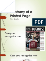 Anatomy of a Printed Page
