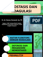 Hemostasis Dan Koagulasi