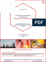 Compliance & Regulatory Provisions in Petroleum & Natural Gas